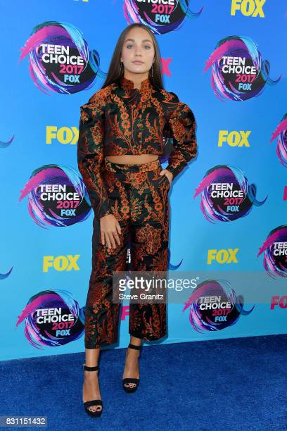 Maddie Ziegler attends the Teen Choice Awards 2017 at Galen Center on August 13 2017 in Los Angeles California