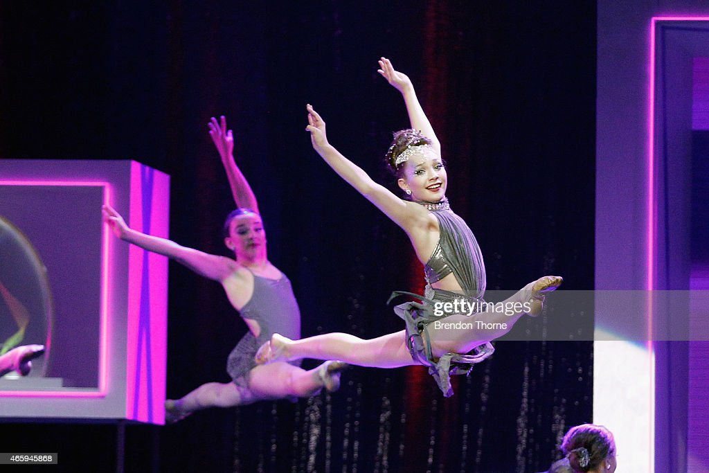 Maddie Ziegler dances on stage on stage during the 2015 ASTRA Awards at The Star on March 12, 2015 in Sydney, Australia.
