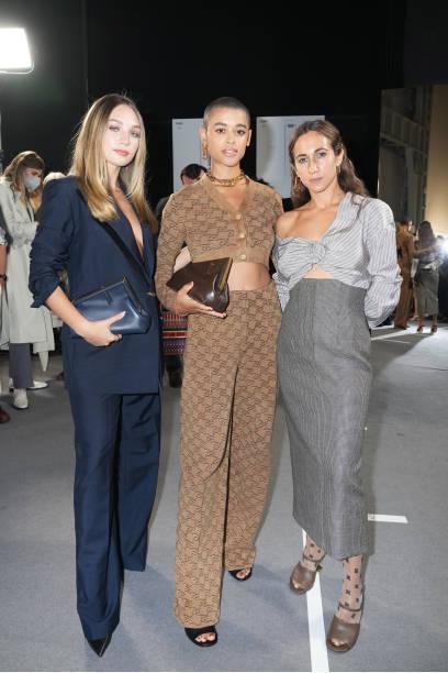 ITA: Fendi Spring Summer 2022-  Milan Fashion Week – backstage