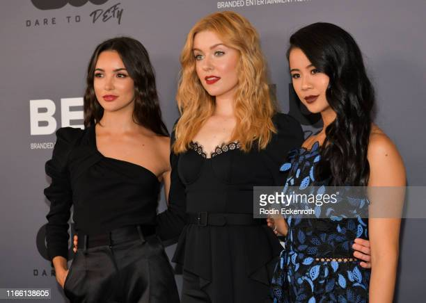 Maddison Jaizani Kennedy McMann and Leah Lewis attend The CW's Summer 2019 TCA Party sponsored by Branded Entertainment Network at The Beverly Hilton...