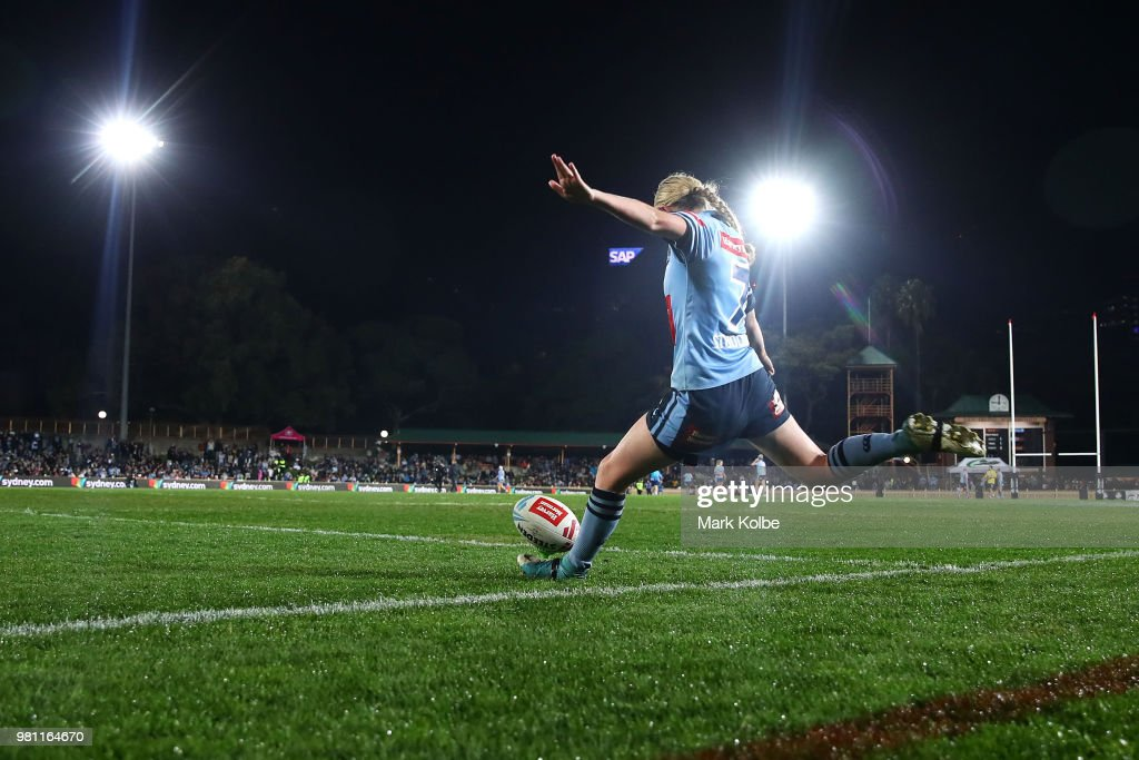 Women's State Of Origin - NSW v QLD : News Photo