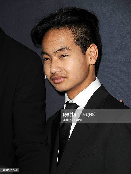 Maddox JoliePitt attends the premiere of Unbroken at TCL Chinese Theatre IMAX on December 15 2014 in Hollywood California