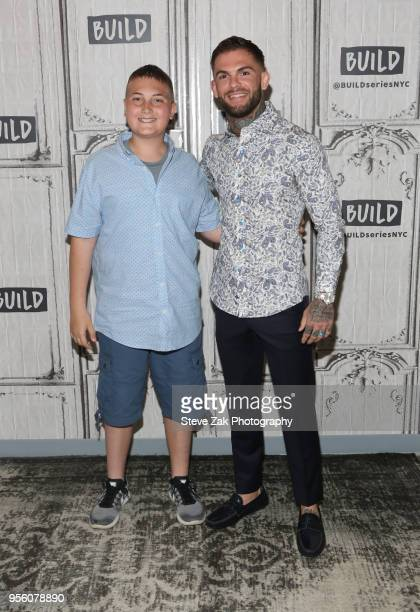 Maddux Maple and Cody Garbrandt visit Build Series to discuss their new book 'The Pact' at Build Studio on May 8 2018 in New York City