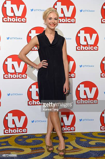 Maddy Hill attends the TV Choice Awards 2015 at Hilton Park Lane on September 7 2015 in London England