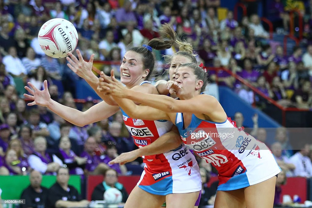 Super Netball Rd 8 - Firebirds v Swifts