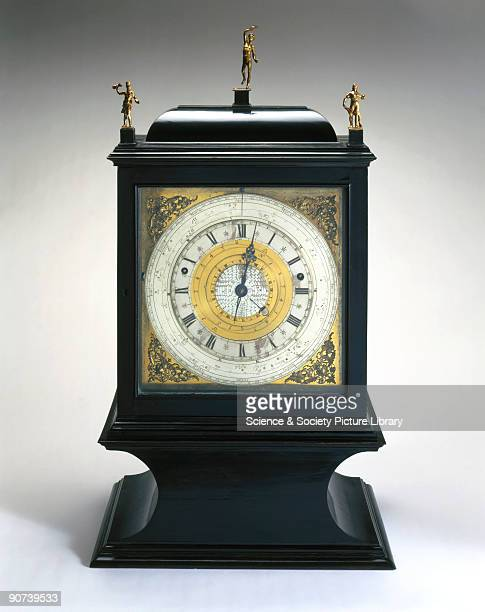 Made by Samuel Watson London this is the earliest English astronomical clock in which the sun is fixed according to the Copernican principle Besides...