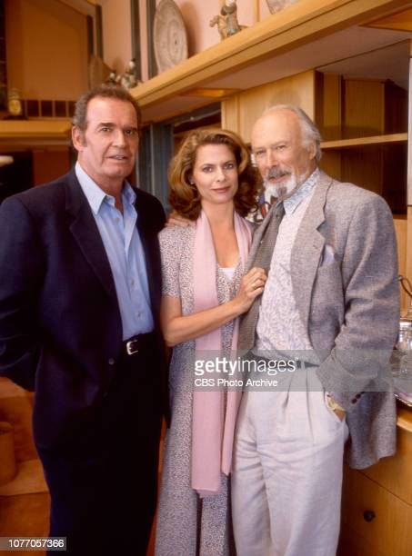 A made for TV movie The Rockford Files Punishment and Crime Originally broadcast September 18 1996 Left to right James Garner Kathryn Harrold Richard...