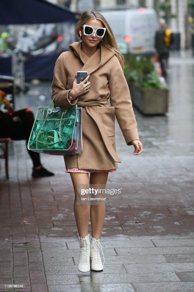GBR: London Celebrity Sightings -  March 19, 2019