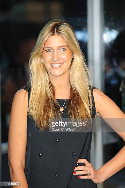 'Made in Chelsea' star Cheska Hull attends the UK premiere of 'Real Steel' at Empire Leicester Square on September 14 2011 in London England