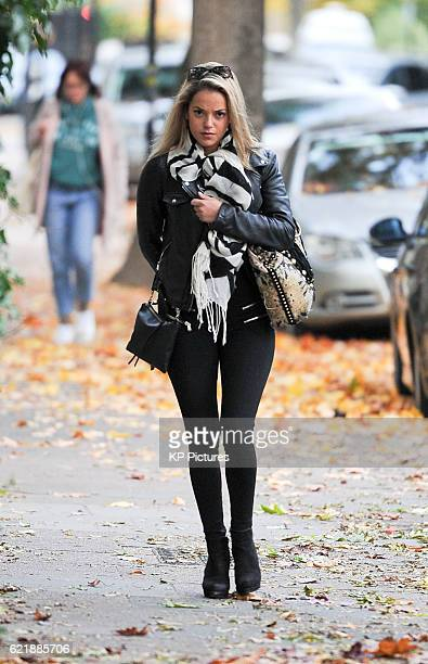'Made In Chelsea' star Natalie Joel pictured out for an afternoon stroll in Primrose Hill on November 03 2016 in London England Photo by KP...