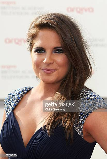 Made in Chelsea's Binky Felstead attends The Arqiva British Academy Television Awards 2012 at The Royal Festival Hall on May 27 2012 in London England