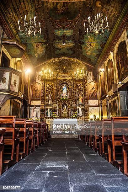 Madeira Island, Camara de Lobos, church interior