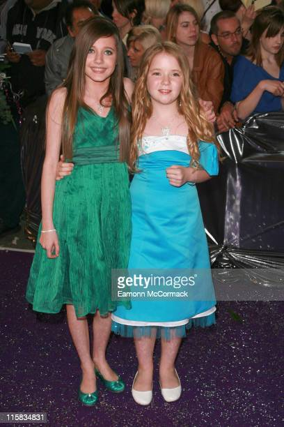 Madelaine Duggan and Lorna Fitzgerald during British Soap Awards – Red Carpet Arrivals at BBC Television Centre in London Great Britain