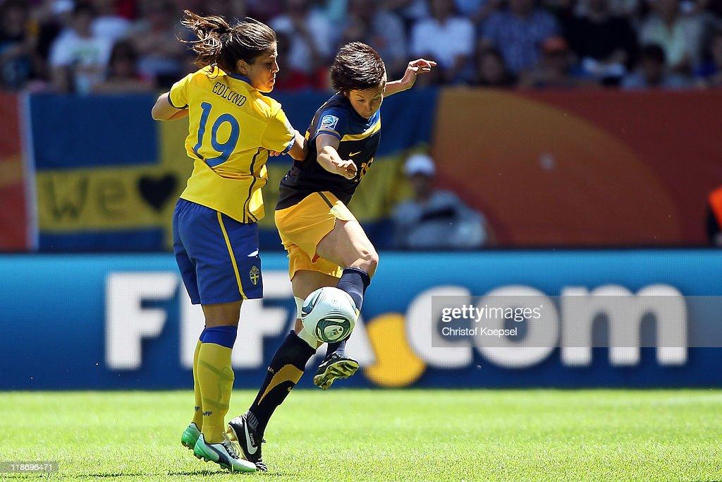 Sweden v Australia: FIFA Women's World Cup 2011 - Quarter Finals