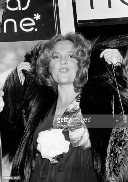 Madelaine Kahn attends the premiere of The Great Gatsby at the Paramount Theater in New York City on March 27 1974