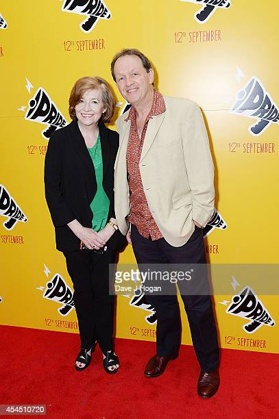 Madelaine Newton and Kevin Whately attend the UK Premiere of Pride at Odeon Camden on September 2 2014 in London England