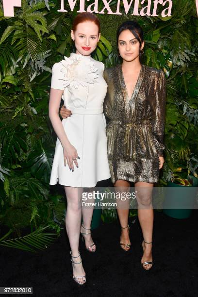 Madelaine Petsch and Camila Mendes attend the Max Mara Celebration for Alexandra Shipp, 2018 Women In Film Max Mara Face Of The Future Award...