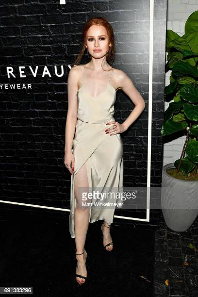 Madelaine Petsch arrives at the Prive Revaux Launch Event at Chateau Marmont on June 1 2017 in Los Angeles California