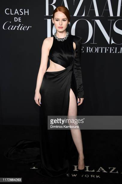 "Madelaine Petsch attends as Harper's BAZAAR celebrates ""ICONS By Carine Roitfeld"" at The Plaza Hotel presented by Cartier - Arrivals on September 06,..."