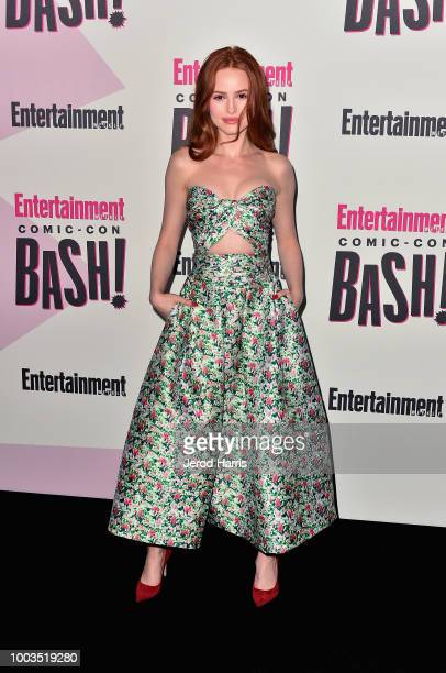 Madelaine Petsch attends Entertainment Weekly's ComicCon Bash held at FLOAT Hard Rock Hotel San Diego on July 21 2018 in San Diego California...