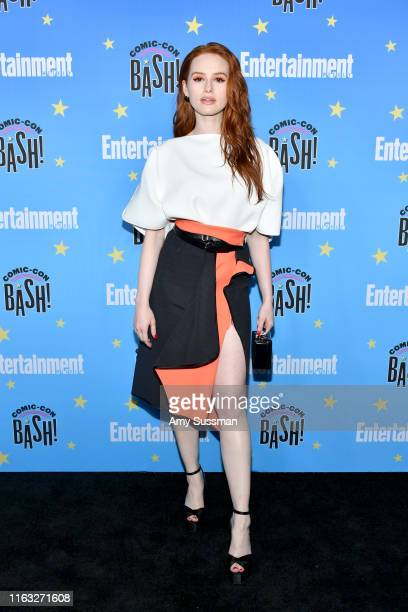 Madelaine Petsch attends Entertainment Weekly's ComicCon Bash held at FLOAT Hard Rock Hotel San Diego on July 20 2019 in San Diego California...