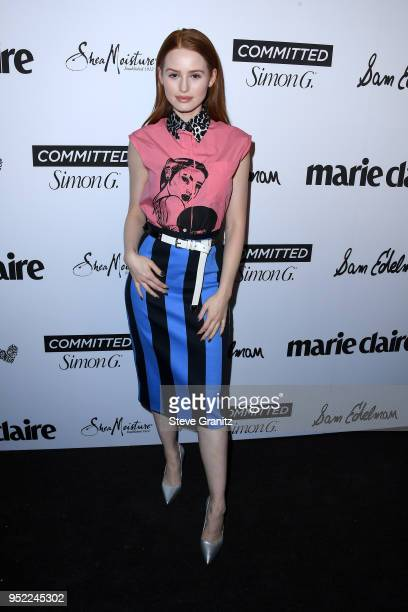 Madelaine Petsch attends Marie Claire's 5th annual 'Fresh Faces' at Poppy on April 27 2018 in Los Angeles California