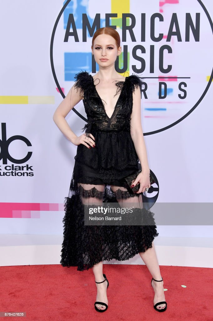 Madelaine Petsch attends the 2017 American Music Awards at Microsoft Theater on November 19, 2017 in Los Angeles, California.