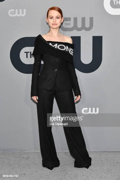 Madelaine Petsch attends the 2018 CW Network Upfront at The London Hotel on May 17 2018 in New York City