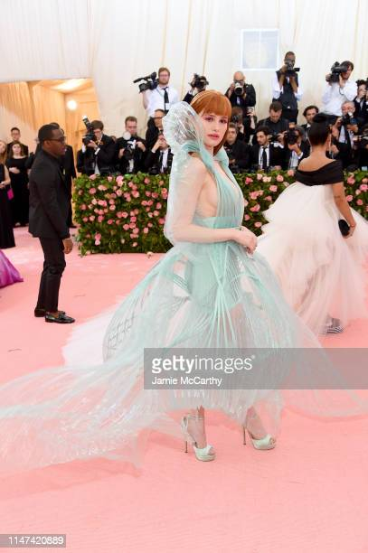 Madelaine Petsch attends The 2019 Met Gala Celebrating Camp Notes on Fashion at Metropolitan Museum of Art on May 06 2019 in New York City