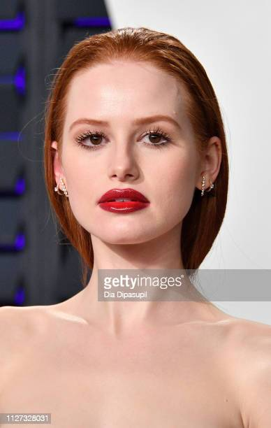 Madelaine Petsch attends the 2019 Vanity Fair Oscar Party hosted by Radhika Jones at Wallis Annenberg Center for the Performing Arts on February 24...