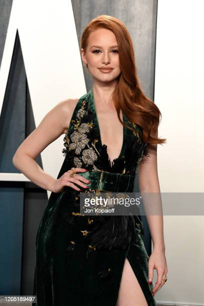 Madelaine Petsch attends the 2020 Vanity Fair Oscar Party hosted by Radhika Jones at Wallis Annenberg Center for the Performing Arts on February 09,...