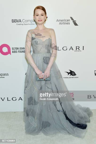 Madelaine Petsch attends the 26th annual Elton John AIDS Foundation's Academy Awards Viewing Party at The City of West Hollywood Park on March 4 2018...