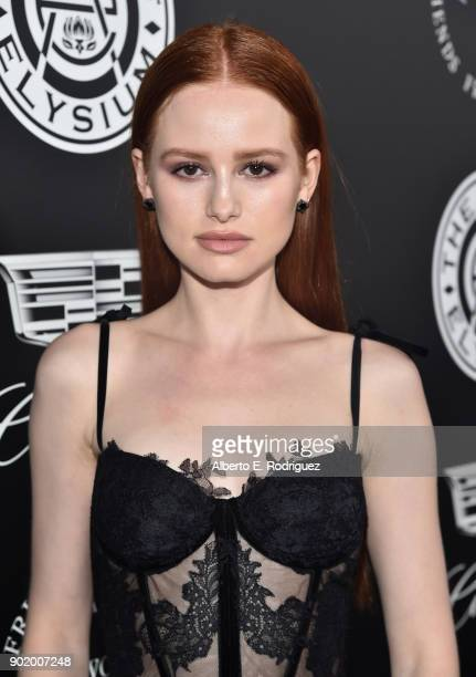 Madelaine Petsch attends The Art Of Elysium's 11th Annual Celebration on January 6 2018 in Santa Monica California