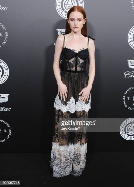 Madelaine Petsch attends The Art Of Elysium's 11th Annual Celebration Heaven at Barker Hangar on January 6 2018 in Santa Monica California