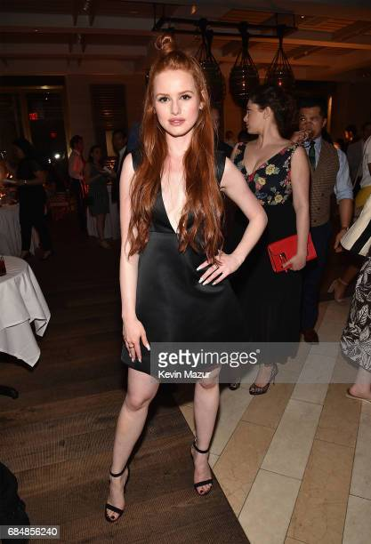 Madelaine Petsch attends The CW Network's 2017 party at Avra Madison Estiatorio on May 18 2017 in New York City
