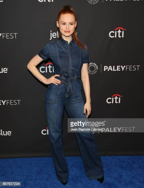 Madelaine Petsch attends The Paley Center For Media's 35th Annual PaleyFest Los Angeles - 'Riverdale' at Dolby Theatre on March 25, 2018 in...