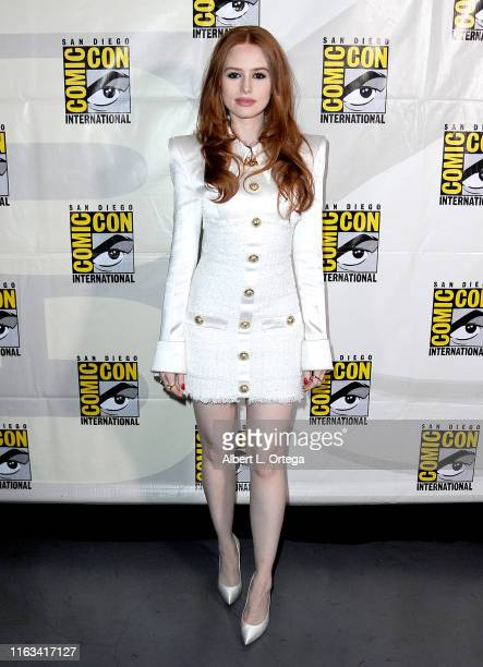 Madelaine Petsch attends the Riverdale Special Video Presentation and QA during 2019 ComicCon International at San Diego Convention Center on July 21...
