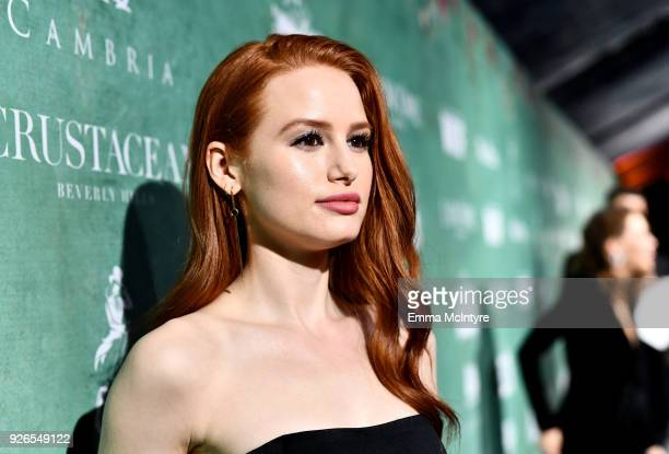 Madelaine Petsch attends Women In Film PreOscar Cocktail Party presented by Max Mara and Lancome with additional support from Crustacean Beverly...