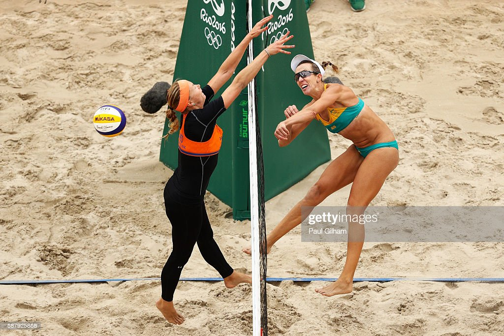 Beach Volleyball - Olympics: Day 5