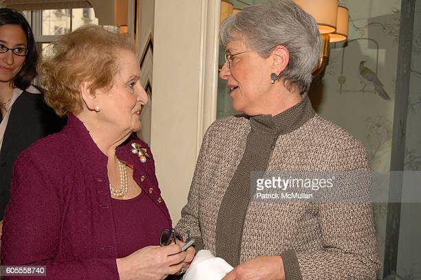 Madeleine Albright and attend Madeleine Albright and Jonathan Burnham introduce her new book THE MIGHTY ALMIGHTY Reflections on America God and World...