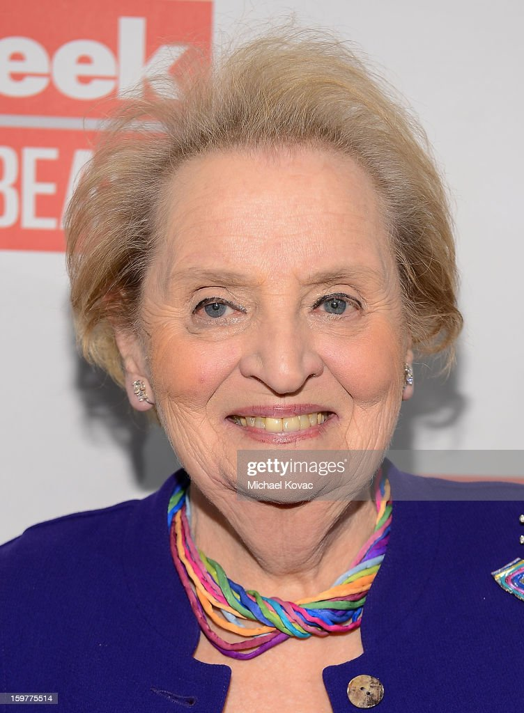 Madeleine Albright attends The Daily Beast Bi-Partisan Inauguration Brunch at Cafe Milano on January 20, 2013 in Washington, DC.