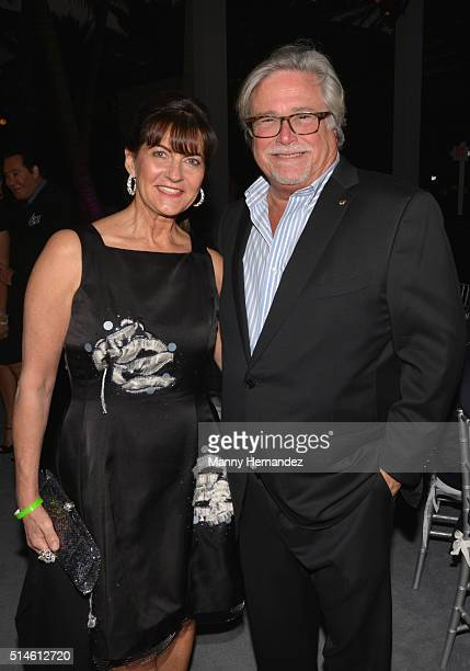Madeleine Arison and Micky Arison attends Destination Fashion 2016 to benefit The Buoniconti Fund to Cure Paralysis the fundraising arm of The Miami...