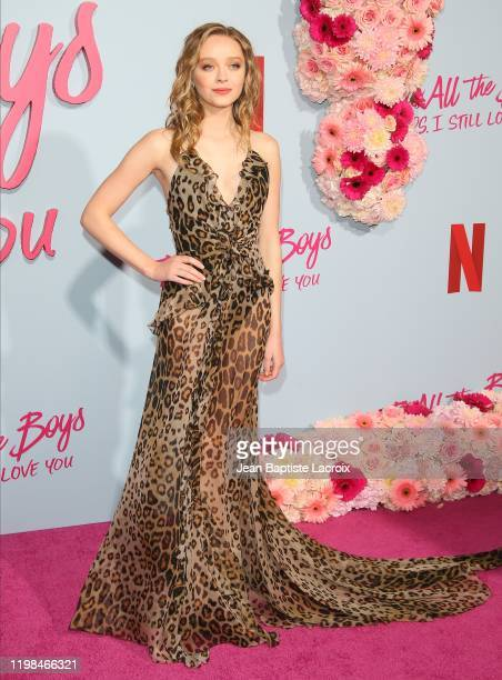 Madeleine Arthur attends the Premiere of Netflix's To All The Boys PS I Still Love You at the Egyptian Theatre on February 03 2020 in Hollywood...