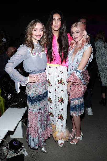 NY: Anna Sui - Front Row - February 2020 - New York Fashion Week: The Shows