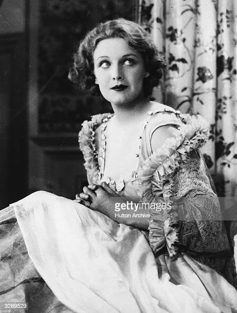 Madeleine Carroll stars as Lady Teazle in the film 'School For Scandal' an 18th century comedy of manners by Richard Brinsley Sheridan The film was...