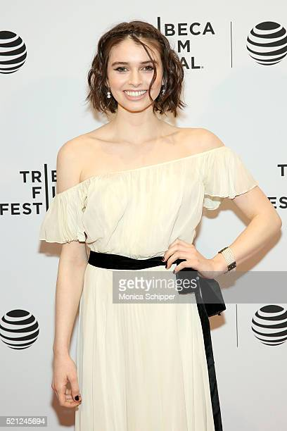 Madeleine Coghlan attends Holidays Premiere 2016 Tribeca Film Festival at Chelsea Bow Tie Cinemas on April 14 2016 in New York City