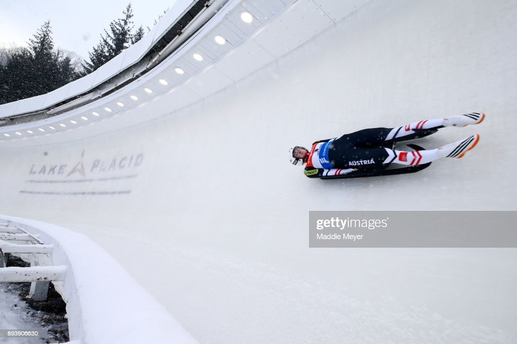 Viessmann FIL Luge World Cup Race & US Olympic Team Announcement : News Photo