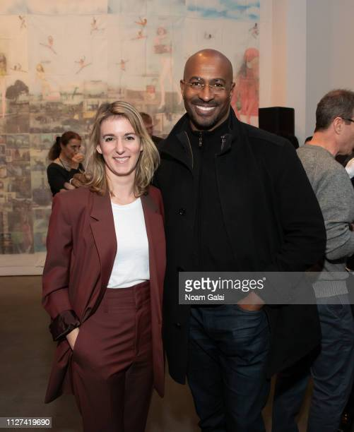 Madeleine Sackler and Van Jones attend The OG Experience by HBO at Studio 525 on February 23 2019 in New York City