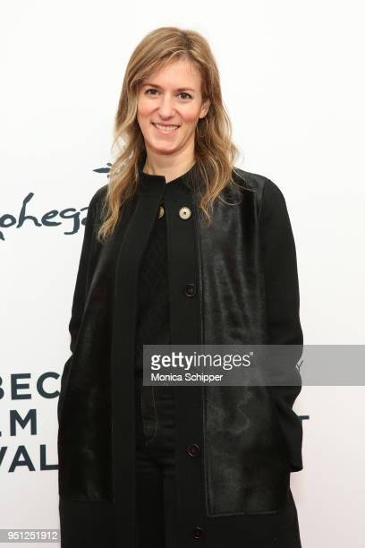 Madeleine Sackler attends the screening of It's A Hard Truth Ain't It during the 2018 Tribeca Film Festival at SVA Theatre on April 25 2018 in New...