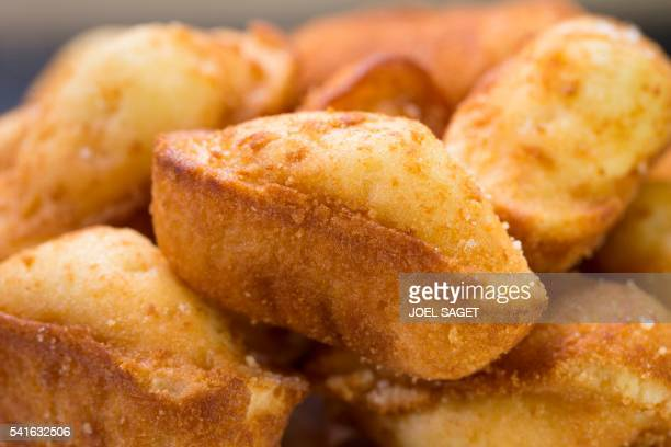 Madeleine shellshaped cookies are pictured on June 17 2016 in Paris A handful of French companies is targetting expatriates in the United States with...